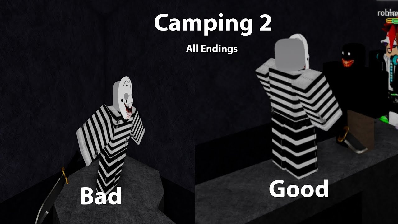 Roblox Camping 2 All Endings Youtube