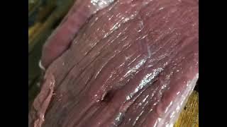 Бастурма. Вяленная лосятина. Готовим мясо лося. Рецепт, проверенный временем. Сыровяленное мясо дичи