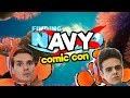 Buscando a Navy/ Comic Con 2018/ Memo Aponte