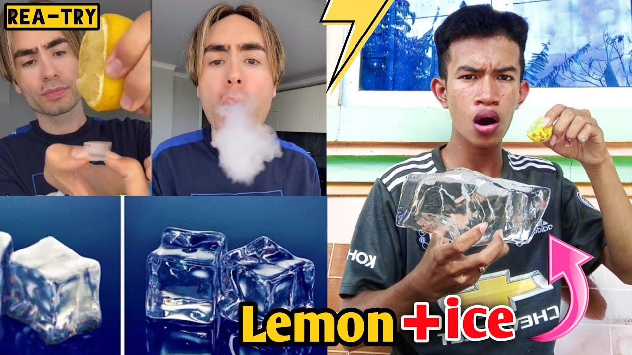 Lemon+ice=Smoke😱ក្រូច+ទឹកកក=ផ្សែង? (វគ្គ2)   Trying to hack    P-PK ភីភីខេ