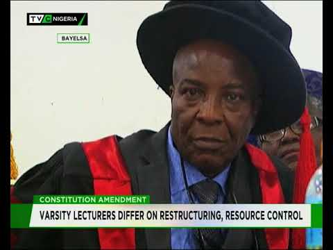 Niger-Delta Varsity Lecturers differ on call for restructuring, resource Control