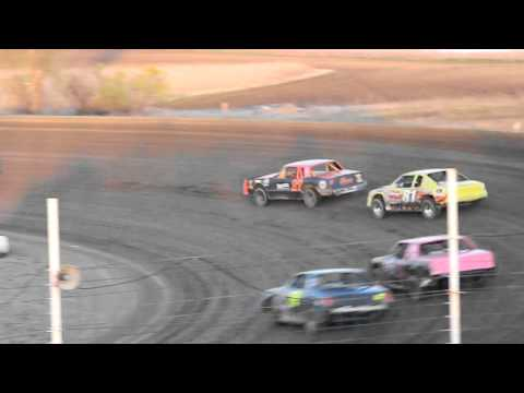 devils lake speedway street stock feature 5/12/12