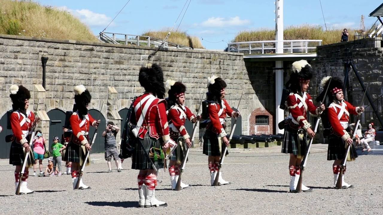 78th Highlanders A Squad Drill Demonstration August 2016