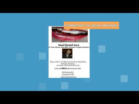 Dentist. Dental Implants. IDEAL DENTAL CARE. Dr Peter Glavas.