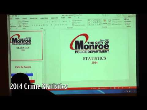 Monroe GA Crime Stats for 2014