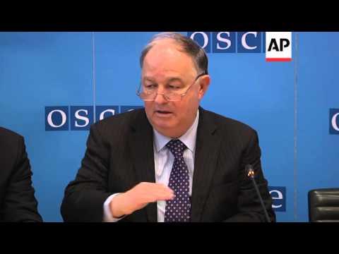 OSCE urges all sides in Ukraine to resume talks
