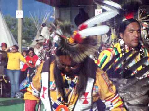 Indian days in Browning, Montana. Blackfoot (blackfeet