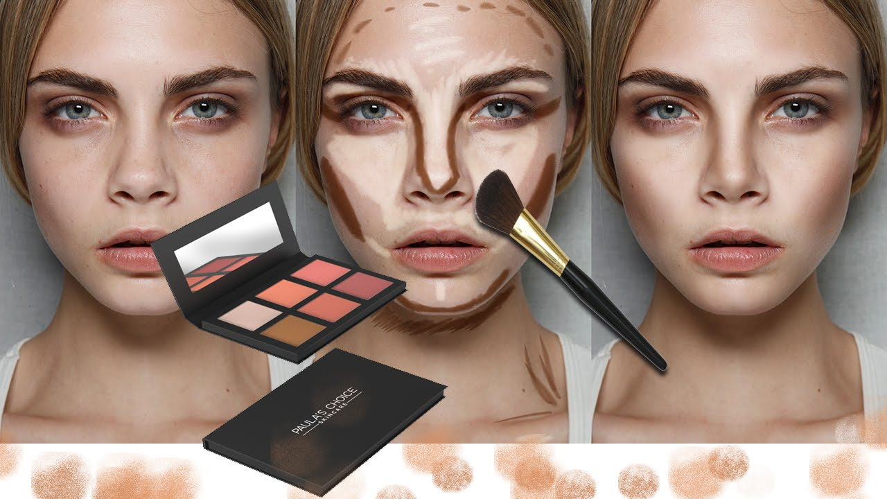 How to contour and highlight in photoshop youtube how to contour and highlight in photoshop ccuart Images