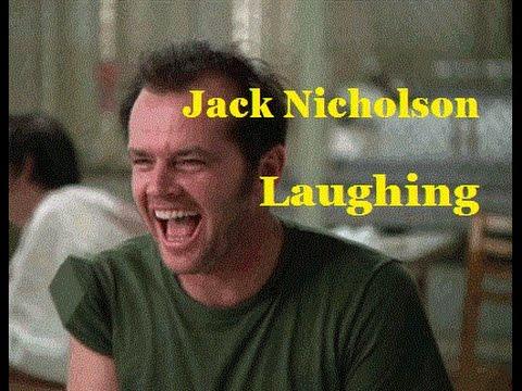 Jack Nicholson laughing