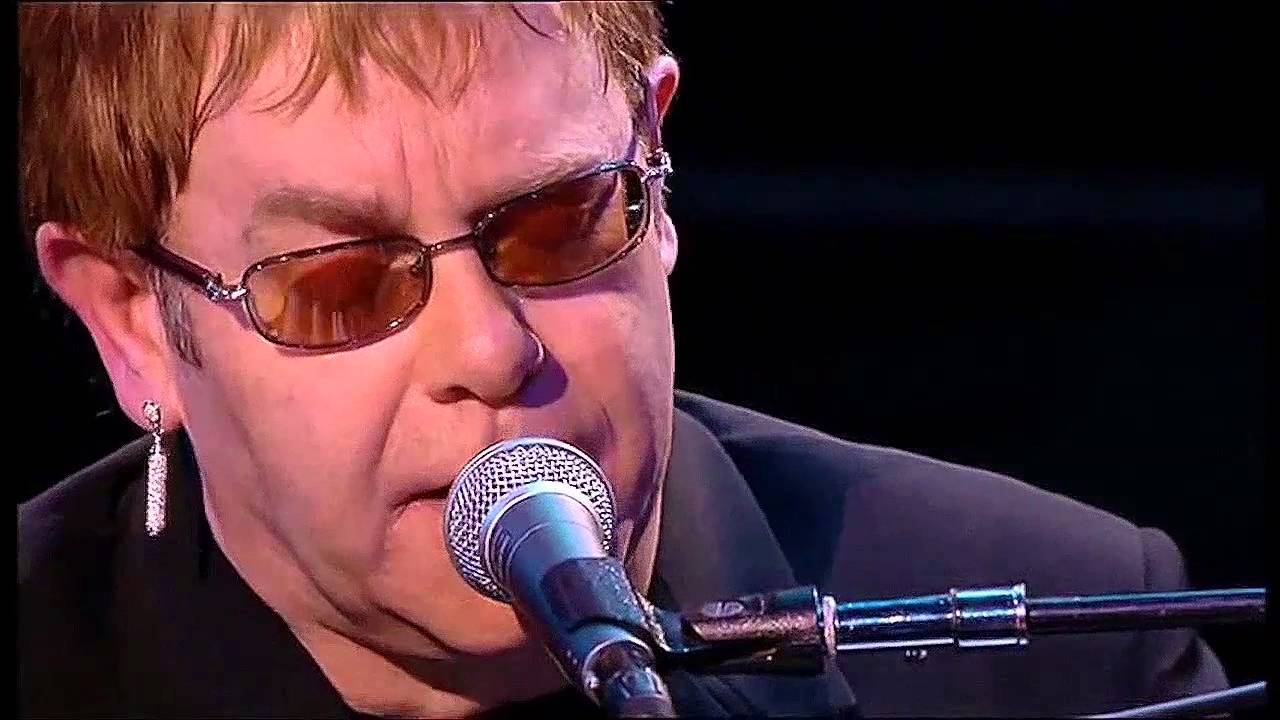 Elton John Sorry Seems To Be The Hardest Word Live At The Royal Opera House 2002 Hd Youtube