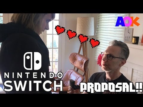 NINTENDO SWITCH WEDDING PROPOSAL  HOW TO VIDEOGAMES