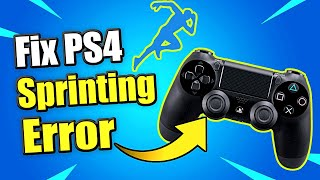 How to FIX PS4 Controller Sprint Not Working (L3 Button Fix)(New Method)