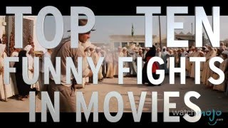 Top 10 Funny Movie Fight Scenes (Quickie)