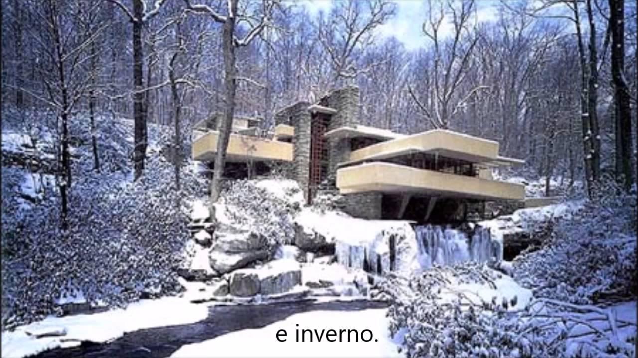 Thaup 4 casa da cascata de frank lloyd wright youtube for Casa sulla cascata frank lloyd wright