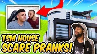 (FUNNY) TSM HOUSE SCARE PRANKS! - Fortnite Funny Fails & Epic Moments! #32