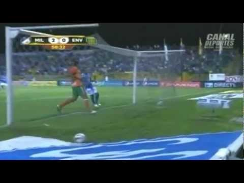 Millonarios vs Cali (1-0) Fecha 15 Liga Postobón 2013-II from YouTube · Duration:  29 seconds
