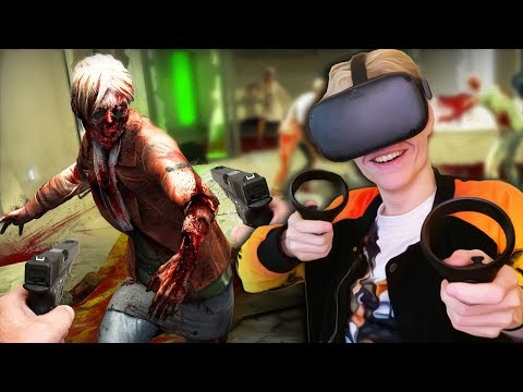 VR ZOMBIE APOCALYPSE GAME | Death Horizon: Reloaded (Oculus Quest Gameplay)