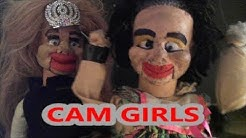 Cam Girls Burger Puppet Archive