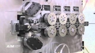 AIM 4000 CNC Spring Coiling Machine