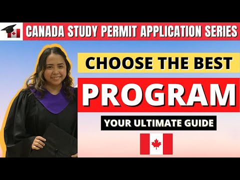 CHOOSE WISELY! Best Program for International Students in Canada (Road to Permanent Residency)