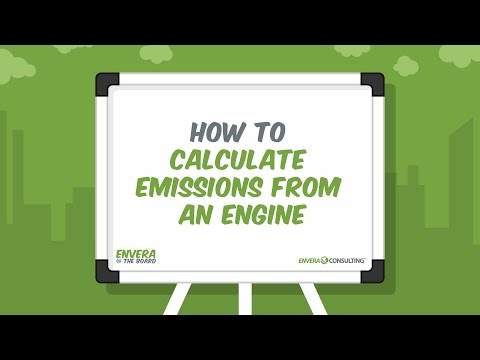 E@TB:  How to Calculate Air Emissions from an Engine