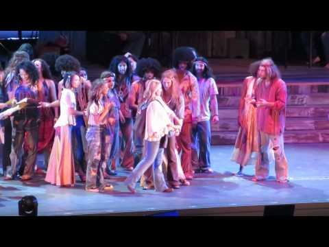 Hair Cast - Hair The Musical @ Hollywood Bowl - August 1st 2014