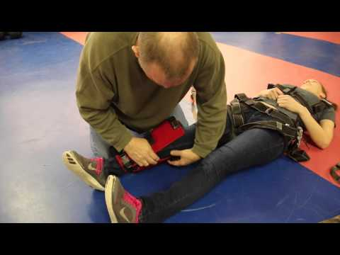 Instructional Video for Tandem Skydiving with a Paraplegic Student