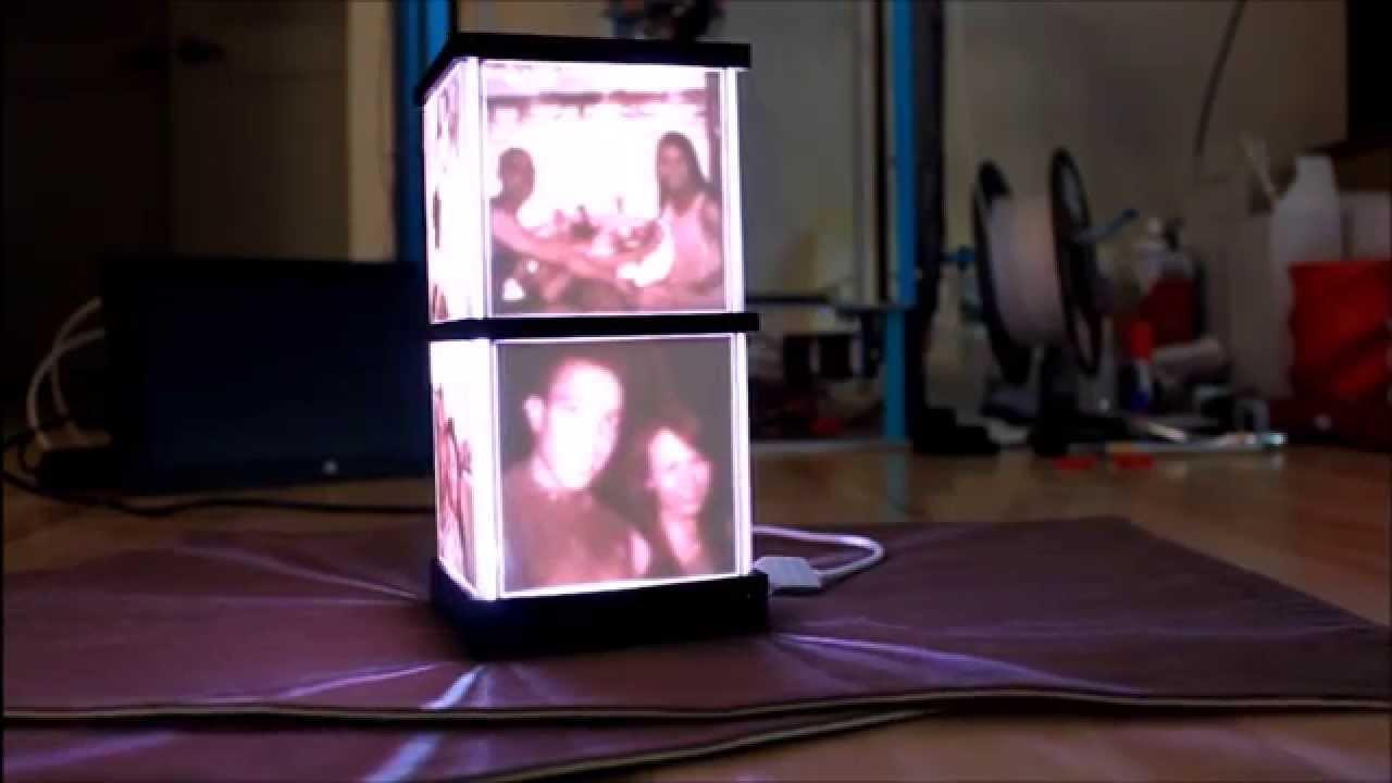 3d printer build a lithophane lamp youtube. Black Bedroom Furniture Sets. Home Design Ideas
