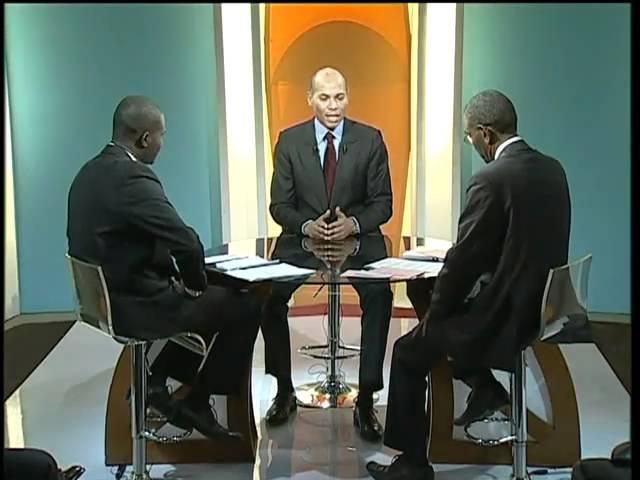 Karim Wade invité du Grand Débat (Part 1/6) - La crise de l'Energie - Février 2011