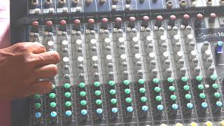 SoundCraft Signature 16 Mixer How to Use FX Equalizer Auxiliary # Tech & Techniques