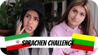 SPRACHEN CHALLENGE ⎥Litauen vs. Iran with Dorsa