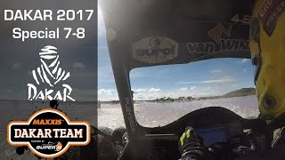 Dakar 2017 marathon stage with trouble, Coronel Maxxis team