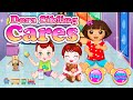 Dora Sibling Care Walkthrough - Dora The Explorer Game Episode For Children | Baby Girl Games