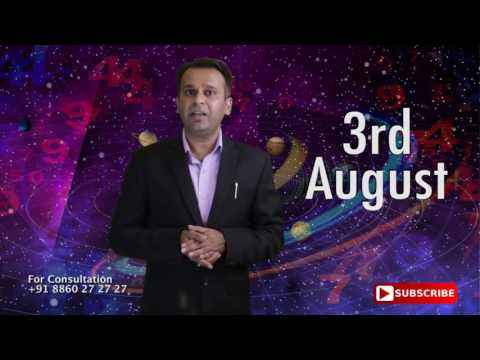 Astrological Prediction for the Person Born on 3rd August | Astrology Planets