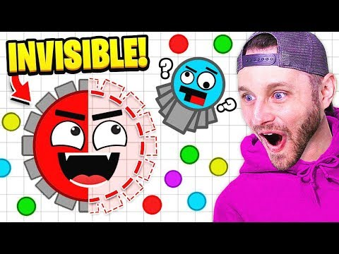 I'm INVISIBLE In Diep.io