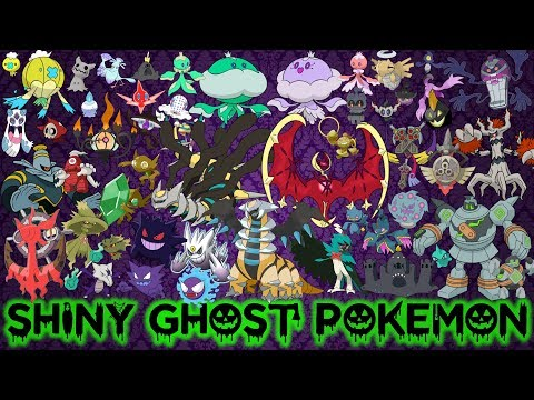 Download Youtube: All Shiny Ghost Type Pokémon