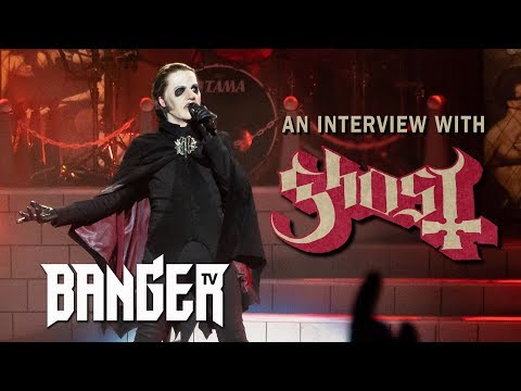 GHOST's Tobias Forge interview on Satan, Sabbath & the future of metal