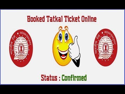 Superfast Tatkal Book on IRCTC