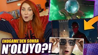 SPIDER-MAN FAR FROM HOME TEPKİ: Avengers Endgame Devam Filmi!