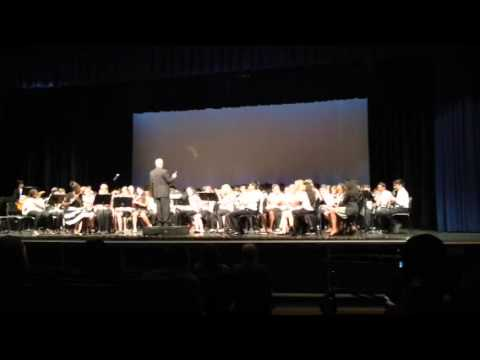 Linwood Middle School 7th grade band spring concert 2015