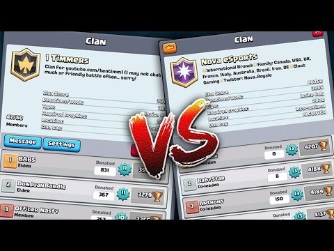 Clash Royale | CLAN vs CLAN & Legendary Trophy Rewards!? Future Update Possiblities!