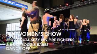 Sexy NW Fire Fighters & Boot Boogie Babes Dance Off (3rd Annual)