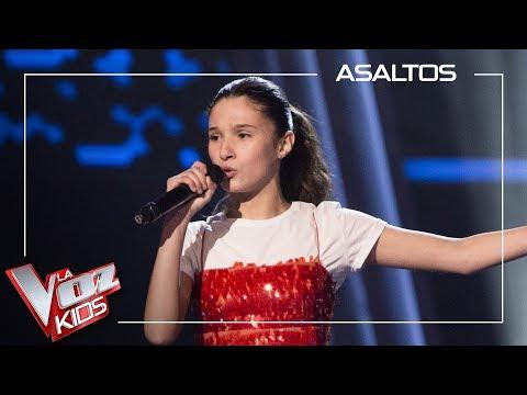 Irene Gil Canta 'Mamma Know Best'   Asaltos   La Voz Kids Antena 3 2019