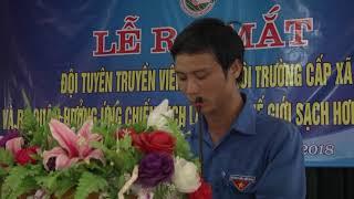 Clip du thi doi tuyen truyen Doan xa Thach Hai BVMT