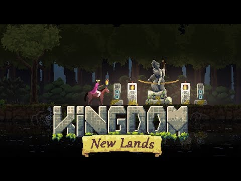 Kingdom New Lands Gameplay #2 - Building Up and Getting Started!