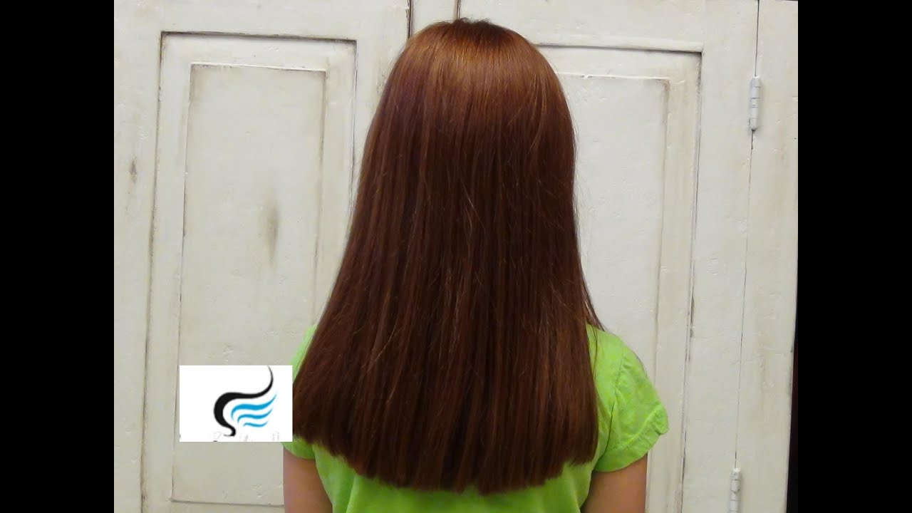 cut layers of long hair