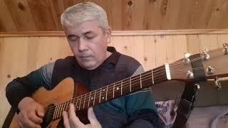 """""""Белые Кони"""" /В. Кузьмин/ Кавер на гитаре. Красивая песня под гитару. видео"""
