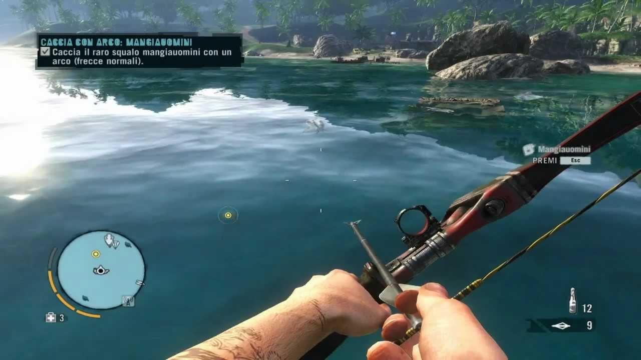 Farcry 3 caccia allo squalo mangia uomini - Hunting the ...