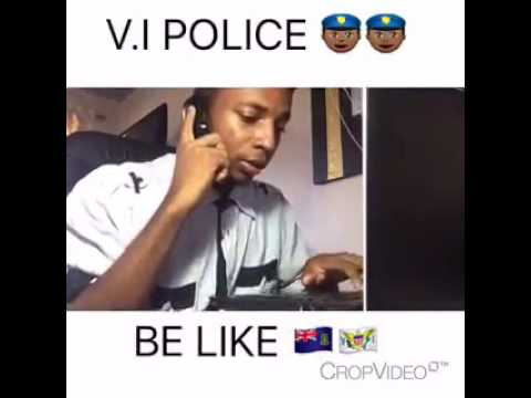 V.I Police be Like ft Anguilla