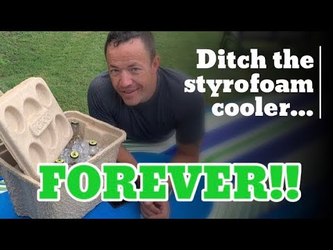 Igloo Recool cooler - Ditch the styrofoam coolers Forever!!
